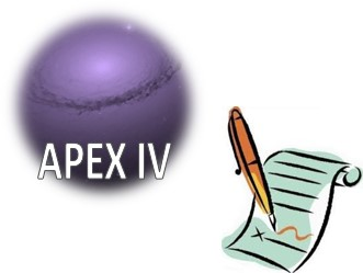 APEX IV - Septembre 2012