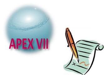 APEX VII - Septembre 2015