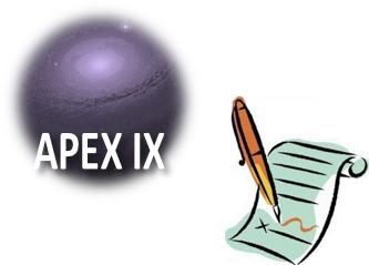 APEX IX - Octobre 2017