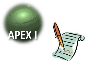 APEX 1 - Septembre 2009